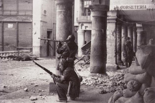 comienzo de la guerra de Teruel