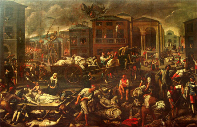 epidemia di peste  (541)