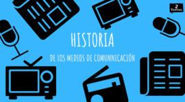historia de la comunicasion timeline