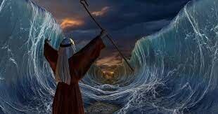 Exodo del pueblo hebreo de Egipto con la ayuda de Moises