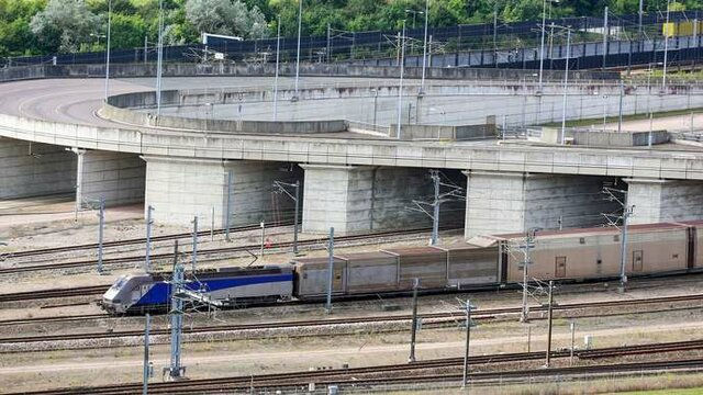 The Channel Tunnel was officially opened