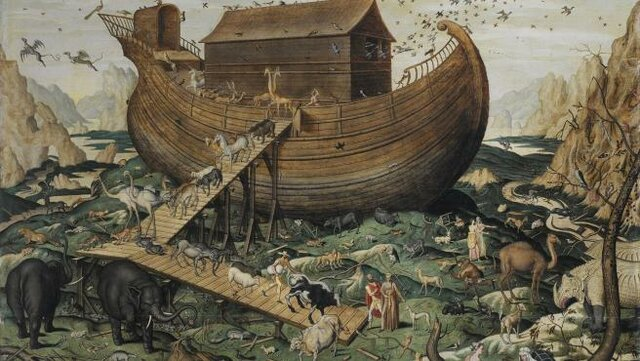 EL DILUVIO   -    ARCA DE NOÉ