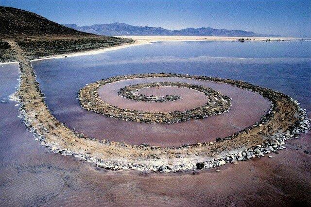 Robert Smithson - Espiral Jetty