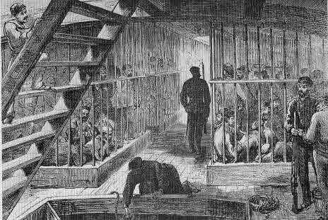 The British stopped sending prisoners to Australia