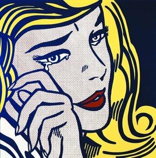 Roy Lichtenstein - Noia Plorant