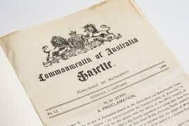 Australian Commonwealth was created