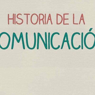 Historia de la comunicación  timeline