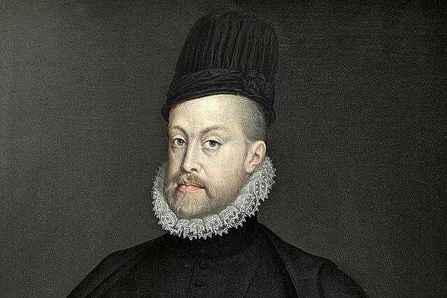 Abdicación de Carlos I en su hijo Felipe