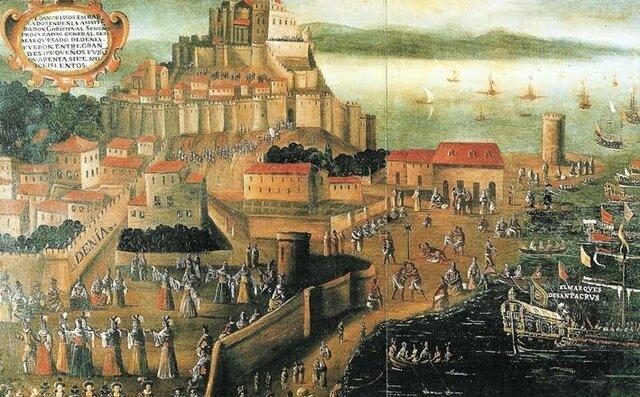 Expulsión de los moriscos en el Puerto de Alicante