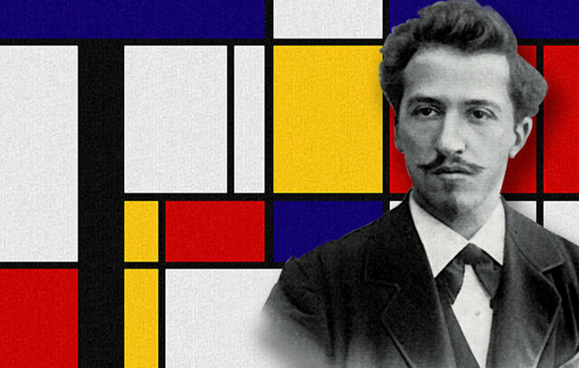 Piet Mondrian  (1872 - 1944)