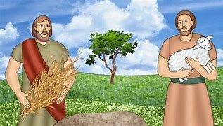 Adoracion de Abel y Cain  año 3800 a.c