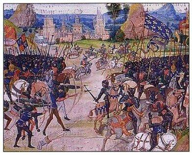 Edoardo III dichiara guerra a Filippo IV