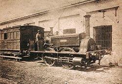 Inauguración del Ferrocarril