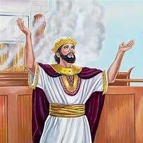 adoracion durante el reino de Salomon 970. a.c