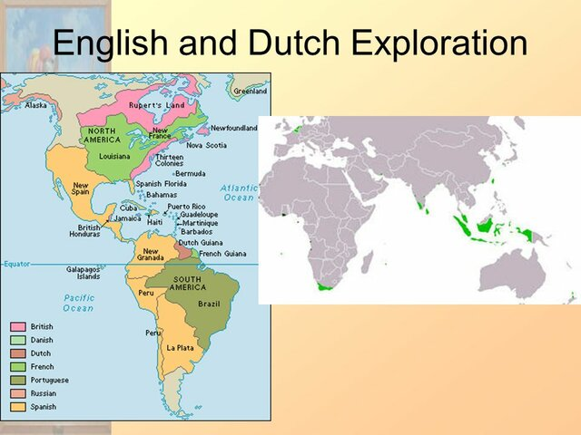 European Exploration: Dutch