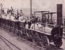 Se creo el primer ferrocarril