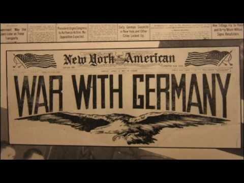 WW1: U.S. declares war on Germany
