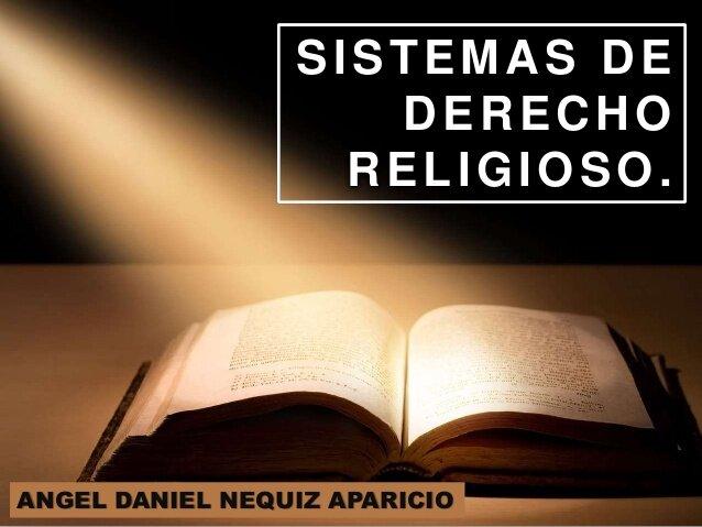 Sistemas jurídicos religiosos