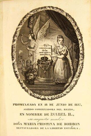 UNA NUEVA CONSTITUCIÓN 1837