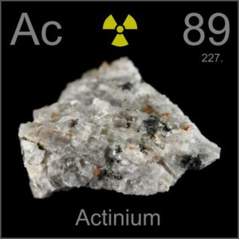 Actinium (Ac)