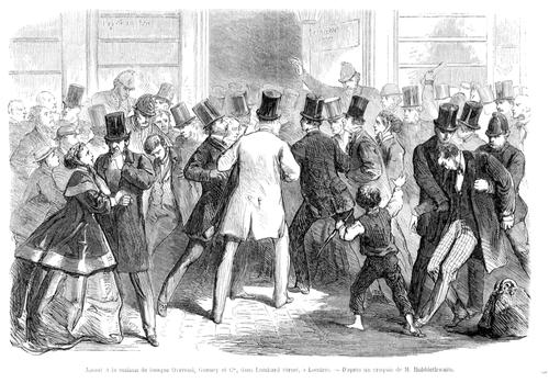 La crisis financiera de 1866