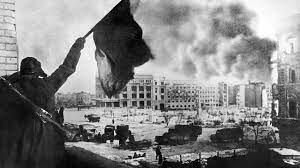 A batalha de Stalingrado começa