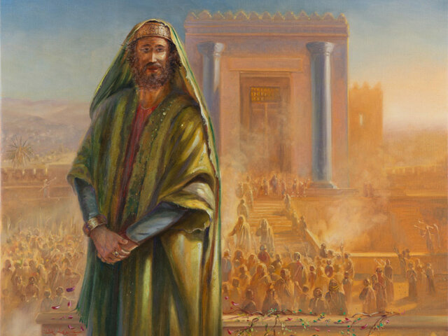 Solomon dies