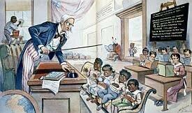Siglo 19, invasion y americanizacion en Puerto Rico