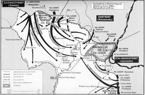 O final da batalha de Stalingrado