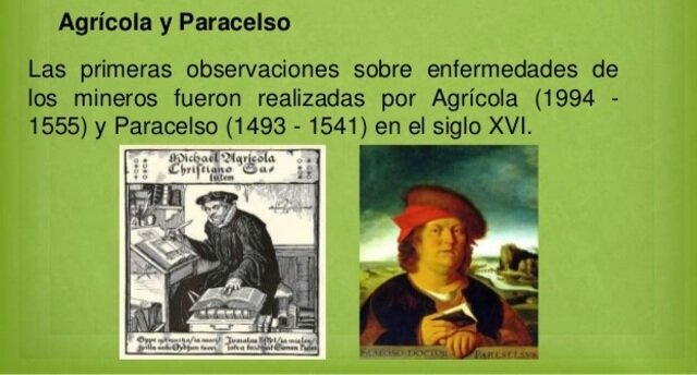 Agricola y Paracelso