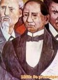 Nace en Guelatao, Oaxaca, Benito Juárez.