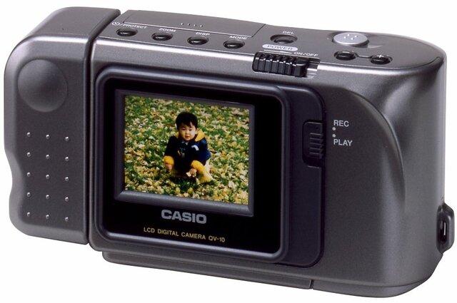 Primera cámara con pantalla
