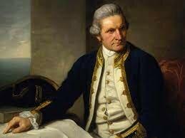 Captain James Cook sailed around Australia