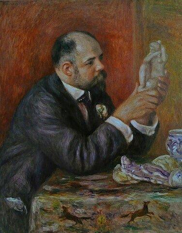 Ambroise Vollard. (1868-1939).