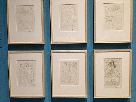 Suite Vollard por Picasso.