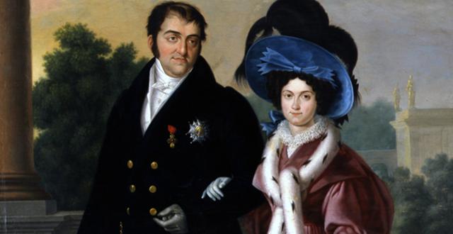 La boda de Fernando VII con María Cristina de Borbón