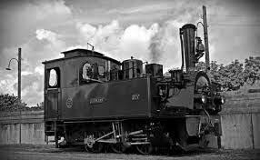la primera locomotora atraviesa caballito