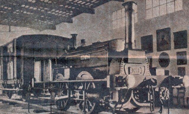 Inauguración Ferrocarril del Oeste