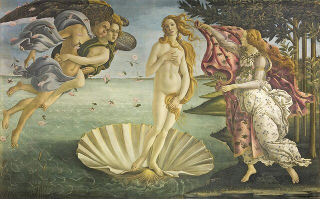 The Birth of Venus-Botticelli