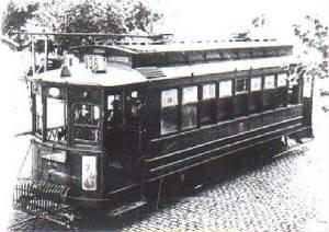 aparecen los primeros tramways eléctricos