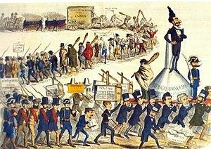 El caciquismo y el falseamiento electoral