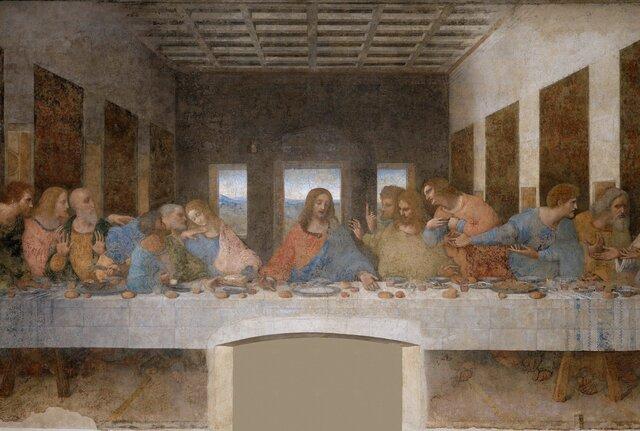 The Last Supper-Leonardo da Vinci