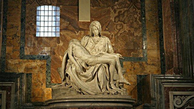 The Pieta-Michelangelo