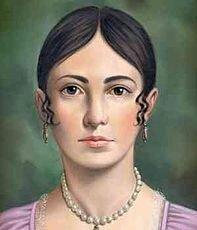 Nace en la ciudad de México Leona Vicario, heroína de la Independencia de México.
