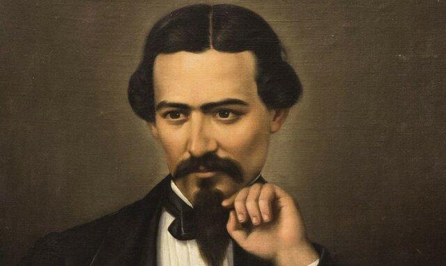 Muere víctima de tifo Francisco González Bocanegra, el autor de la letra del Himno Nacional Mexicano.