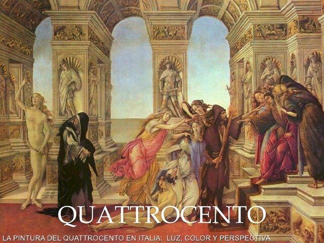 (1400-1492) El Quattrocento