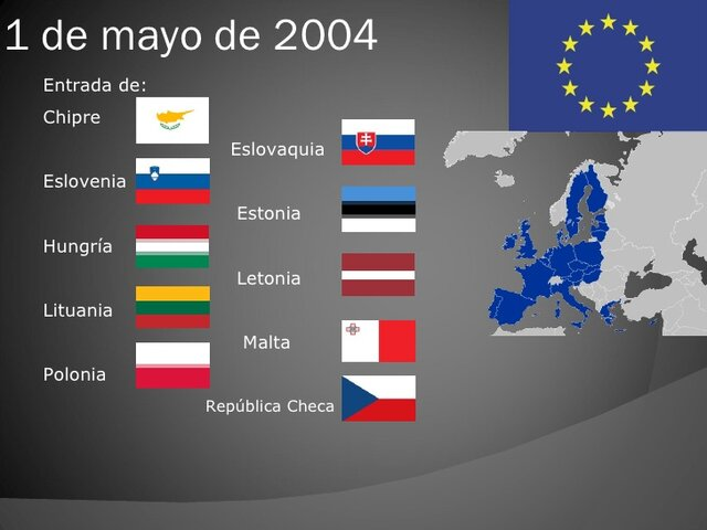 La quinta ampliación de la Unión Europea