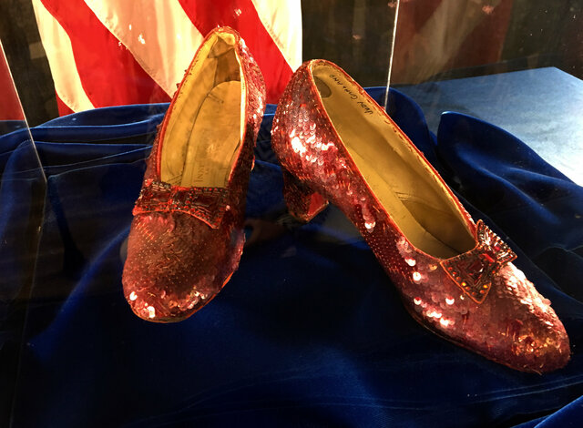 Ruby Red Slippers sold