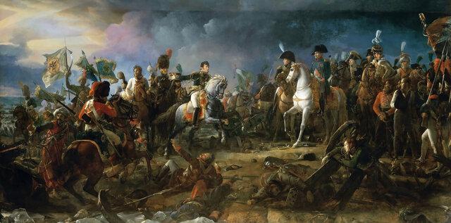 Bitka pri AUSTERLITZU.