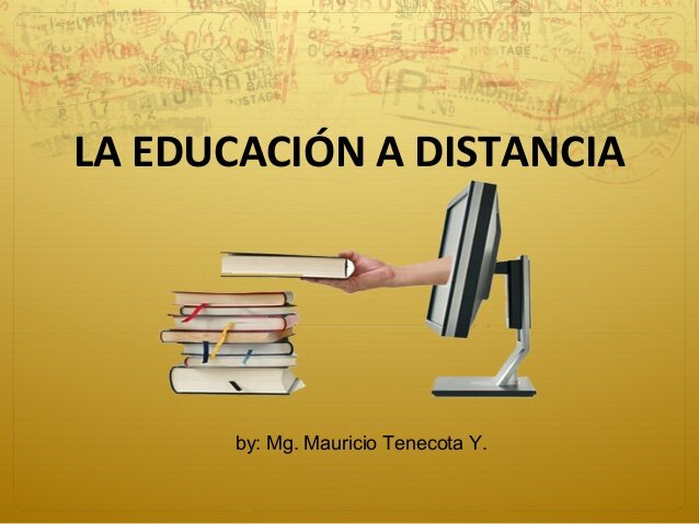 Origen de la educación a distancia